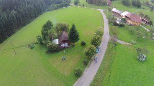 Vögeles Mühle Luftbild von oben